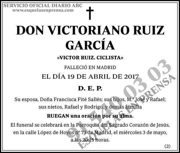 Victoriano Ruiz García
